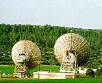 Satellite station in the Valley of Elah