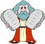 Moses with Tablets-1